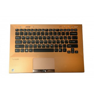 Клавиатура для ноутбука Sony VPC-SA (KB-362R) (черный, бронзовый) - Клавиатура для ноутбука
