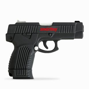 Smartbuy SB16GBGN (Пистолет) - USB Flash driveUSB Flash drive<br>Емкость - 16 Гб, интерфейс - USB 2.0, материал - резина.