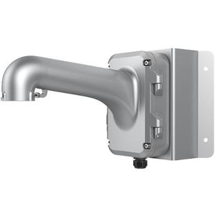 Hikvision DS-1604ZJ-Corner-P (серый) - Кронштейн для камеры видеонаблюденияКронштейны для камер видеонаблюдения<br>Материал: алюминиевый сплав и сталь, монтаж: крепление на угол, улучшенный дизайн влагозащиты.