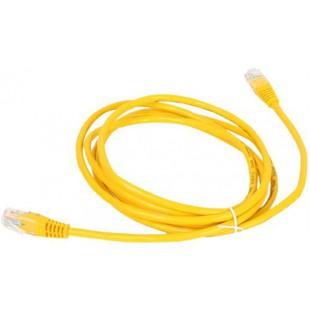 Патч-корд UTP cat5е 0.5м (AOPEN ANP511_0.5M_Y) (желтый) - КабельСетевые аксессуары<br>Патч-корд неэкранированный, категория 5е, длина 0.5м.