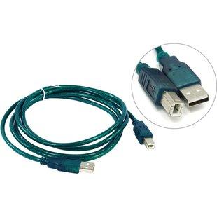 Кабель USB AM-BM 1.8м (Aopen ACU201-1.8TG) (зеленый) - Кабель, переходникКабели, шлейфы<br>Кабель соединительный, разъемы USB AM-BM, версия USB 2.0, длина 1.8м.