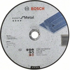 Диск отрезной 230х22.23 BOSCH 2608600324 - Отрезной диск