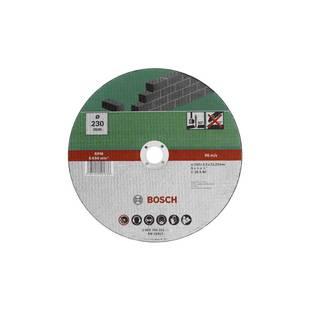 Диск отрезной 230х22.23 BOSCH 2609256331 - Отрезной дискДиски отрезные<br>BOSCH 2609256331 - отрезной диск, по камню, бетону, диаметр 230 мм, посадочное отверстие 22.23 мм, 6650 об/мин.