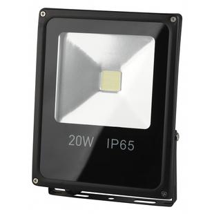 Прожектор светодиодный Эра LPR-20-6500К-М - Садовый прожекторПрожекторы<br>Освещение придомовых, производственных и складских территорий, рекламных и архитектурных конструкций. 20Вт, 1400Лм, 6500K, 140х180.