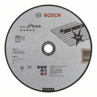 Диск отрезной 230х22.23 BOSCH 2608603500 - Отрезной диск