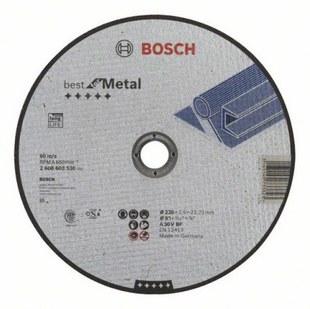 Диск отрезной 230х22.23 BOSCH 2608603530 - Отрезной диск