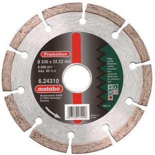 Диск отрезной 230х22.23 Metabo 624310000 - Отрезной диск