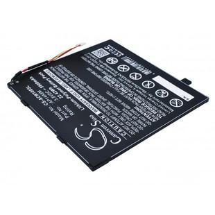 Аккумулятор для Acer Aspire Switch 10 (SW5-011, SW5-012), Iconia Tab 10 (A3-A20) (CameronSino TPB-037) (5900mAh) - Аккумулятор для планшетаАккумуляторы для планшетов<br>Аккумулятор рассчитан на продолжительную работу и легко восстанавливает работоспособность после глубокого разряда. Емкость составляет 5900 mAh.