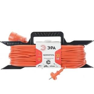 Удлинитель силовой 1 розетка 40м (ЭРА UF-1-2x0.75-40m) (красный) - Сетевой фильтр