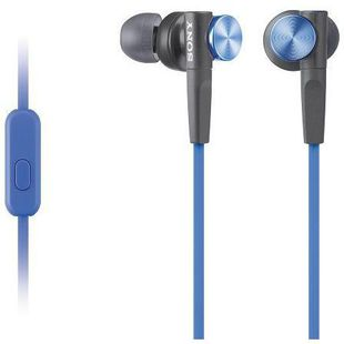 Sony MDR-XB50AP (синий) - Наушники