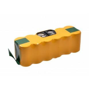 Аккумулятор для пылесоса iRobot Roomba 500, 510, 530, 560, 600, 760, 770, 780, 790, 880 (14.4V 5.2Ah) (VCB-002-IRB.R500-52L) - Аккумулятор