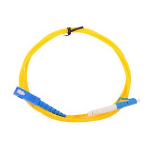 Патч-корд оптический LC-SC 1м (VCOM VSU302-1M) (желтый) - КабельСетевые аксессуары<br>Патч-корд оптический, штекер LC-SC, длина 1м.