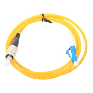 Патч-корд оптический LC-FC 3м (VCOM VSU301-3M) (желтый) - КабельСетевые аксессуары<br>Патч-корд оптический, штекер LC-FC, длина 3м.