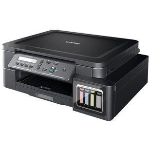 МФУ Brother DCP-T310 InkBenefit Plus - Принтер, МФУПринтеры и МФУ<br>МФУ Brother DCP-T310 InkBenefit Plus - принтер/сканер/копир, A4, струйный, печать  цветная, 4-цветная, 12 стр/мин ч/б, 6 стр/мин цветн., 1200x6000 dpi, память: 128 МБ, USB, ЖК-панель