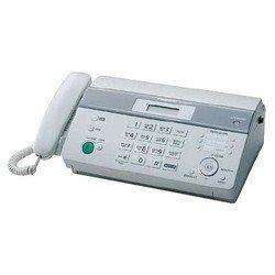 Panasonic KX-FT982RUW (белый) - ФаксФаксы<br>Panasonic KX-FT982RU - факс/копир с печатью на рулонах, печать на термобумаге, модем 9.6 кбит/с, проводная трубка