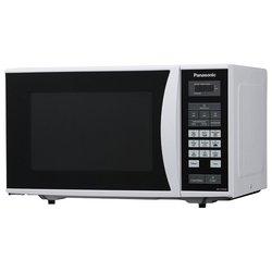 Panasonic NN-ST342WZPE (белый) - МикроволновкаМикроволновые печи<br>Panasonic NN-ST342W - объем 25 л, отдельно стоящая, мощность 800 Вт , <br>электронное управление, <br>сенсорная панель, дисплей