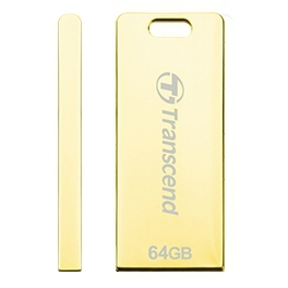 Transcend JetFlash T3G 64Gb (золотистый)