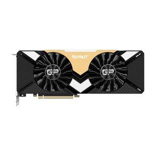Palit GeForce RTX 2080Ti 1350MHz PCI-E 3.0 11264MB 14000MHz 352 bit HDMI HDCP Gaming Pro 11G (NE6208TT20LC-150A) RTL - ВидеокартаВидеокарты<br>Видеокарта NVIDIA GeForce RTX 2080Ti, 11264 МБ видеопамяти GDDR6, частота ядра/памяти: 1350 МГц/14000 МГц, разъемы HDMI x1, DisplayPort x3, USB Type-C x1.