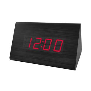 Часы-будильник Perfeo PF-S711T (черный) - ЧасыЧасы настольные и каминные<br>Крупный светодиодный дисплей с тремя режимами яркости покажет точное время, а также поделится данными о температуре.