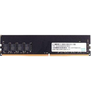 Apacer DDR4 2400 DIMM 4Gb ( AU04GGB24CETBGH) - Память для компьютераМодули памяти<br>1 модуль памяти DDR4, объем модуля 4 ГБ, форм-фактор DIMM, 288-контактный, частота 2400 МГц, CAS Latency (CL): 17.