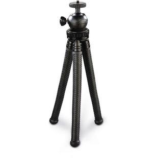 Штатив Hama FlexPro (00183394) (черный) - Штатив, моноподШтативы и моноподы для фото- и видеокамер<br>Штатив Hama FlexPro с гибкими ножками, которые могут изгибаться до 360 градусов, что обеспечивает оптимальное и надежное крепление к различным объектам, например, перилам, ветвям.