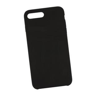 Чехол-накладка для Apple iPhone 8 Plus, 7 Plus (Liberty Project 0L-00040908) (черный) - Чехол для телефонаЧехлы для мобильных телефонов<br>Чехол плотно облегает корпус и гарантирует надежную защиту от царапин и потертостей.