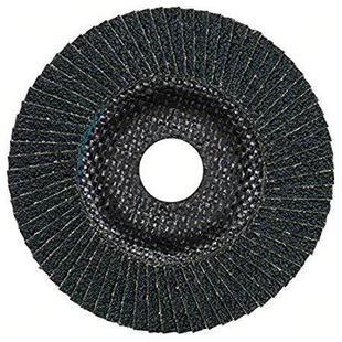 Шлифовальный круг Bosch 2608607323 115 мм 1 шт - Шлифовальный кругШлифовальные круги<br>Лепестковый шлифкруг, 115мм, K60.