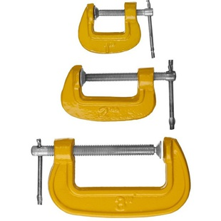 Набор струбцин Stayer 3212-H3_z02 - Набор инструментовНаборы инструментов<br>Набор струбцин, тип G, 25/50/75 мм, 3 штуки