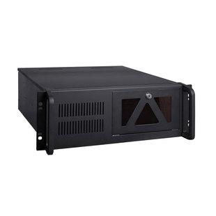 Exegate Pro 4U4017S - Рэковое сетевое хранилищеРэковые сетевые хранилища<br>Корпус 4U, без БП, отсеки для накопителей: внешние 5.25quot; х2, внешние 3.5quot; х1, внутренние 3.5quot; х7, 2x USB 2.0, размер: 450x430x177 мм.