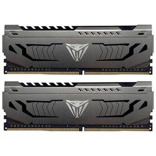 Оперативная память Patriot Memory PVS416G300C6K - Память для компьютераМодули памяти<br>Оперативная память Patriot Memory PVS416G300C6K - DDR4 3000 (PC 24000) DIMM 288 pin, 2x8 ГБ, 1.35 В, CL 16