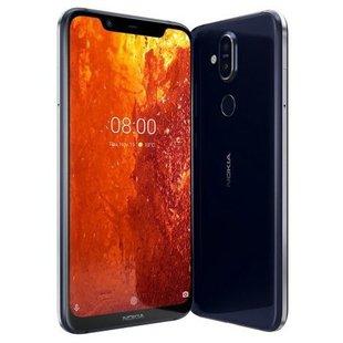 Nokia 8.1 64GB (синий) - Мобильный телефонМобильные телефоны<br>Смартфон Nokia 8.1 64GB - GSM, LTE-A, смартфон, Android 9.0, вес 180 г, ШхВхТ 75.76x154.8x7.97 мм, экран 6.18quot;, 2280x1080, Bluetooth, NFC, Wi-Fi, GPS, ГЛОНАСС, фотокамера 12 МП, память 64 Гб, аккумулятор 3500 мА?ч