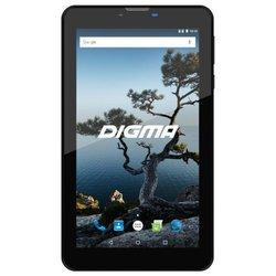 Digma Plane 7556 3G + чехол (голубой) ::: - Планшетный компьютерПланшеты<br>Планшет Digma Plane 7556 3G - 7quot;, 1024x600, Android 7.0,  16ГБ, 3G, GPS, слот для карт памяти
