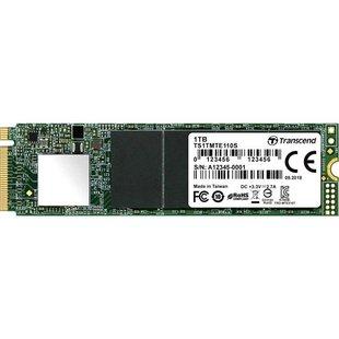 Transcend TS1TMTE110S - Внутренний жесткий диск HDDВнутренние жесткие диски<br>Внутренний SSD, разъем M.2, 1024 Гб, PCI-E x4, чтение: 1800 Мб/сек, запись: 1500 Мб/сек.