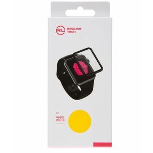 Защитная пленка для Apple Watch S3 38 мм (Red Line YT000017201) (Full screen) - Защитное стекло, пленка для умных часовЗащитные стекла и пленки для умных часов<br>Защитная пленка изготовлена из высококачественных материалов и идеально подходит для данной модели устройства.