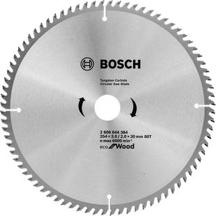 Диск пильный 254х30 Bosch 2608644384 - Пильный дискПильные диски<br>Bosch 2608644384 - пильный диск, диаметр 254 мм, посадочное отверстие 30 мм.