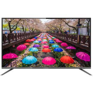 Hyundai H-LED50F452BS2 + XMAS (черный) - Телевизор