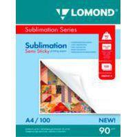 Сублимационная бумага A4 90гр/м2 (Lomond 0809414) (100шт) - БумагаОбычная, фотобумага, термобумага для принтеров<br>Сублимационная бумага Lomond 0809414 без покрытия, липкая. Плотность бумаги составляет 90гр/м2. Формат A4, количество листов в упаковке 100. Цвет бумаги белый.