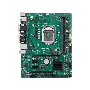 ASUS PRIME H310M-C R2.0 RTL - Материнская платаМатеринские платы<br>Материнская плата форм-фактора microATX, сокет LGA1151 v2, чипсет Intel H310, 2 слота DDR4 DIMM, 2666 МГц.