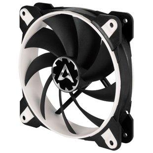 Arctic Cooling BioniX F120 White - Кулер, охлаждениеКулеры и системы охлаждения<br>Lля корпуса, 1 вентилятор (120 мм, 200-1800 об/мин), черный-белый корпус.