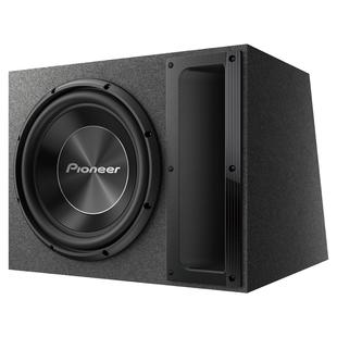 Pioneer TS-A300B - АвтоакустикаАвтоакустика<br>Пассивный сабвуфер серии А с низкочастотным динамиком 12 дюймов (30 см). Рассчитан на сопротивление 2 Ом, выдает RMS 500 Вт. Вы получите фирменное звучание нижнего регистра, которое выведет воспроизведение аудио на качественно иной уровень.
