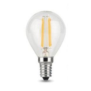 Лампа Gauss LED Filament Шар E27 11W 750lm 4100K (105802211) - ЛампочкаЛампочки<br>Мощность: 11 Вт. Цветовая температура: 4100K. Цоколь: E27. Напряжение питания, V: 150-265 В/50 Гц. Световой поток: 750 Lm.