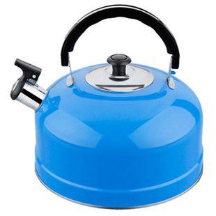 Чайник для плиты IRIT IRH-422 (голубой) - Посуда для готовкиПосуда для готовки<br>Чайник для плиты IRIT IRH-422, 2.5л, нержавейка, голубой.