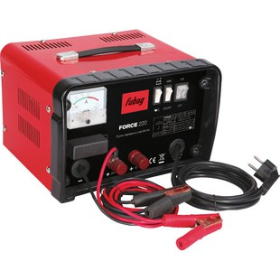 Fubag Force 220 (68835) - Пусковое устройство, проводЗарядные устройства для аккумуляторов<br>Пуско-Зарядное устройство, 220В, 12-24В, 40-700 Ач, 25-40А, ток пуска 180А