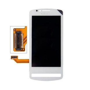 Дисплей для Nokia 700 с тачскрином Qualitative Org (LP) (белый) - Дисплей, экран для мобильного телефона