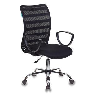 Кресло Бюрократ CH-599AXSL/32B/TW-11 (черный) - Стул офисный, компьютерныйКомпьютерные кресла<br>Эргономичное кресло современного дизайна.  Регулировка высоты (газлифт). Эргономичная спинка (сетка). Крестовина хромированная. Ограничение по весу: 120 кг.