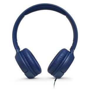 Наушники JBL Tune 500 (голубой) - НаушникиНаушники и Bluetooth-гарнитуры<br>Наушники JBL Tune 500 - наушники с микрофоном, накладные, 32 Ом, разъем mini jack 3.5 mm.