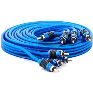 Кабель 4хRCA-4хRCA 5м (Swat SIP-450) (синий) - Кабель, разъем для акустической системыКабели и разъемы для акустических систем<br>Межблочный кабель, разъемы 4хRCA-4хRCA, длина 5м.