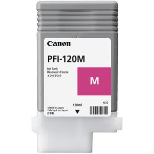 Картридж для Canon imagePROGRAF TM-200, 205, 300, 305 (PFI-120 M 2887C001) (пурпурный) (130мл) - Картридж для принтера, МФУ
