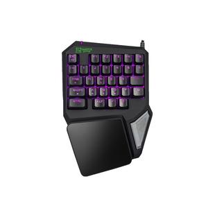Harper Gaming Foxtrot GKB-95 - КлавиатураКлавиатуры<br>Игровой кейпад с программируемыми кнопками и настраиваемой RGB-подсветкой для быстрых и четких побед.