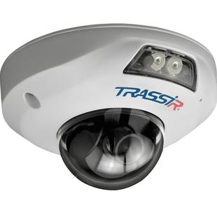 Trassir TR-D4161IR1 2.8мм (белый) - Камера видеонаблюденияКамеры видеонаблюдения<br>Купольная IP-камера, 1/2.9quot; CMOS 6 Мп, разрешение: 6 Mп (3072х2048)/5 Mп (2592х1944), дальность действия ИК-подсветки: до 15 м.